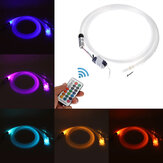 Glasfaser RGB 300pcs Kabel Decke Autodach Star Light 2M Fernbedienung