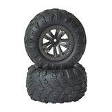 2PCS XLF F16 F17 F18 1/14 RC Car Spare Tires Wheels Vehicles Model Parts
