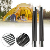 3.2/3.4/3.7/3.9m Camping Tent Fibreglass Poles Replacement Sunshade Canopy Rod Tent Accessories