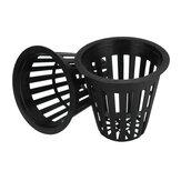 10Pcs 2.2Inch Пластиковая сетка Net Basket Hydroponic Aeroponic Flower Container Grow Pot Plant Basket