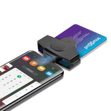 Rocketek CSCR3 USB Type-c Smart Card Reader Memory ID Bank EMV electronic DNIE DNI SIM Cloner Connector Adapter Android Phones