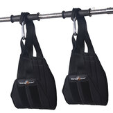 KALOAD Heavy Duty Abdominal Training Hanging Belt Fitness Abs Sling Straps Chin-Up Bar Pullup Muscle Training Support Belt