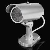 Emulational Dummy CCTV Outdoor Güvenlik Kamera ile 18 Kırmızı Yanıp Sönüyor LED Lamba