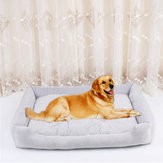 4 colori Crystal Velvet Pet Divano letto Dog Cat Sleeping Bed Kennel per cani di taglia media