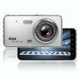 GT29 4 pollici 1080P Monitoraggio parcheggio Dual lente Car DVR Registrazione registratore di guida con posteriore fotografica