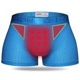 RopainteriordeportivaparahombresBragas Pantalones cortos Boxershorts Tratamiento magnético Transpirable de secado rápido