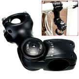 BIKIGHT 1pc調整可能な角度ステムライザー60°マウンテンバイク自転車用ハンドルバー