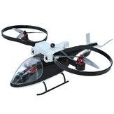 KY-Z2 6CH Zweiachsiger bürstenloser Hubschrauber RTF-Unterstützung GPS Zurück One Klicken Sie auf Abheben