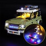 DIY LED Light Lighting Kit For LEGO 42110 For Land Rover Defender Car Bricks Toy