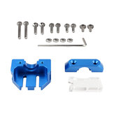 Dotbit® Extrusion Head Mounting Block Multi-bracket Compatible with V6 Volcano Kit for 3D Printer Part Ender-3/CR-10