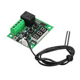 2pcs W1209 DC 12V -50 to +110 Temperature Sensor Control Switch Thermostat Thermometer Geekcreit for Arduino - products that work with official for Arduino boards