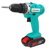 VIOLEWORKS 88VF Cordless Electric Impact Drill 2 Speed Hand Screwdriver Drill 25+1 Torque 3/8