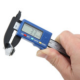 DANIU 100mm High Precision Carbon Fiber Composites Digital Vernier Caliper Micrometer Guage