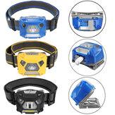 BIKIGHT1000LMBikeBikefaroUSB recargable Sensor High Bright Bicycle funcionamiento pesca faro
