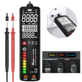 MUSTOOL MT100 Curved Screen Multimeter Digital Voltage Tester 3-Line Display Voltmeter Ohm Hz with Analog Bar & 8 LED Indicator DMM