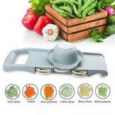 キッチン刃物用スチールブレードマンドリンスライサーフルーツおろし金付き多機能野菜カッター