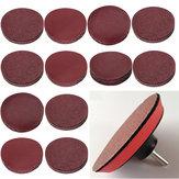 10 adet 3 İnç 40-2000 Grit Zımpara Disk Zımpara Kağıt Aşındırıcı Parçalar Zımpara