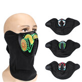 LED Luminous Voice Control Face Mask Dust Wind Sun Protection Cycling Face Scarf Party Dance Mask Balaclava