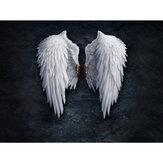 1 шт. Настенная декоративная живопись крылья ангела холст печать настенный декор художественные картины бескаркасные настенные украшения