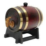 Barril de madera del barril de vino del roble 1.5L con la espita para el alcohol de la cerveza del vino