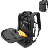 Men Large Capacity Travel Bag USB Charge Backpack