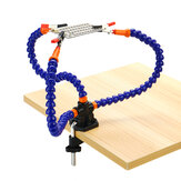 Table Soldering Holder Stand Helping Hands Flexible Arms For PCB Welding Repair