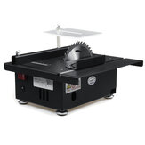 24V 7200RPM 100W Mini Table Saws Dengan Cutting Kedalaman 40mm Woodworking Bench Saws Model