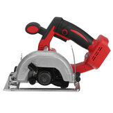 10800RPM 5inch Red Electric Circular Saw Tool Cutting Machine For Makita 18-21V Battery