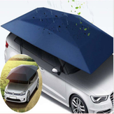 400 * 210 cm 210D Oxford Tuch Car Shelter Umbrella Zelt Dach Schatten Abdeckung Tuch Dach Wasserdicht Anti UV