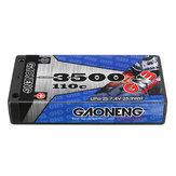 Gaoneng GNB 7.4V 3500MAH 2S 110C LipoバッテリーT Plug 1/12 RC車用