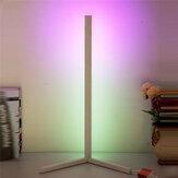 52CM LED Угловой пол с изменяющимся цветом RGB Лампа с многоцветным Дистанционный