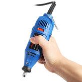 110 / 220V elettrico smerigliatrice di precisione utensile rotante elettrico trapano a mano 5 velocità variabile