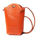Women Irregular Little Phone Bag Casual PU Crossbody Bag