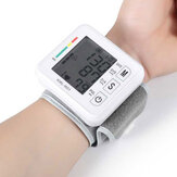 Original              Boxym Wrist Blood Pressure Monitor Automatic LCD Blood Pressure Measurement Electronic Sphygmomanometer Tonometer Health Household Heart Rate Equipment