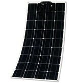12V 150W Sami-Flexible Solar Panel Monocrystalline Silicon for Outdoor Power Generation System Parking Shed Electric Car