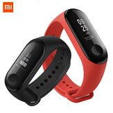 Mi band Originale Xiaomi 3 Smart Band OLED Display 50M Impermeabile Monitor di Frequenza Cardiaca