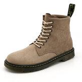 Мужчины Classic Стиль работы Комфортные противоскользящие повседневные лодыжки Ботинки