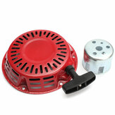 Recoil Starter Cup Assembly Red Trek Start Voor Honda GX120 GX160 GX200 Motor