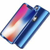 Bakeey Plating 360° Full Body Case+Tempered Glass Film For iPhone XR/XS/XS Max/X/8/8 Plus/7/7 Plus/6s/6s Plus/6/6 Plus