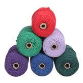 Pleciona lina Handmade DIY Naturalny bawełniany sznurek Twisted Cord Craft Macrame