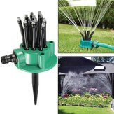 360 ° Jardin Irrigation Arrosage Arrosage Irrigation Débit Dripper Eau Drip Head