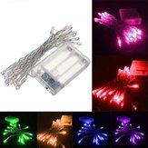 2M 20 LED Bateria Powered Christmas Wedding Party String Fairy Light