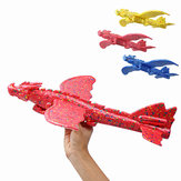 48cm Inertial Foam EPP Plane Toy Chinese Dragon Hand Launch Throwing Glider Aircraft