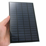 2 pcs 18 V 2.5 W Mini Polycrystalline Panel Surya Fotovoltaik Panel untuk DIY