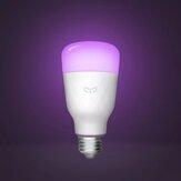 5 Stück Yeelight 1S YLDP13YL AC100-240V E27 8,5 W RBGW Smart LED Glühlampe Arbeit mit Homekit