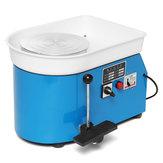 Elektrikli Çömlekçilik Tekerlek 25 cm Çömlek Şekillendirme Makinesi 250 W Çömlek Çarkı DIY Kil Parçalar Seramik Makine