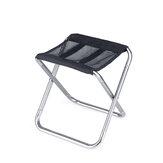 Naturehike 20JJ006 Cadeira de pesca dobrável de tamborete de acampamento Praia Assento com armazenamento Bolsa Carga máxima de 100 kg