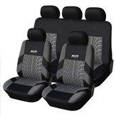 Protezione universale per seggiolino auto a 5 posti. Cuscino SUV anteriore e posteriore pieno