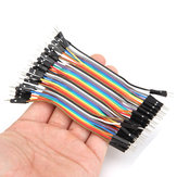200pcs 10cm Male To Male Jumper Cable Dupont Wire For