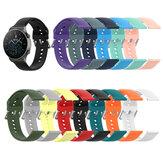 Reloj inteligente Bakeey de 22 mm multicolor Silicona con correa de repuesto con hebilla plateada Banda para reloj Huawei GT2 PRO